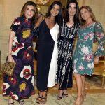 Andrea Niskier, Izabela Hamawy, Rosane Nachbar e Rina Hasky