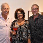 Antonio e Meire Costa com Sergio Machado