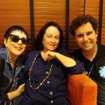 Beth Serpa com Yacy Nunes e Marcus Brandão