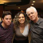 Brenno Davison, Cristiane Silvestre e Jorge Davison