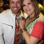 Bruno Chateaubriand e Claudia Valério Mello