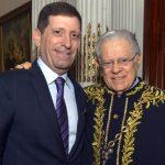 Celso e seu pai Arnaldo Niskier