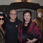 Claudia Bakker, Márcio Doctors e Luisa Strina