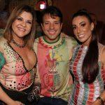 Claudia Valério Mello, Deputado Estadua Carlo Caiado e Rudimila Borges