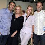 Claudio Pereira, Marcia Peltier, Kiki Moretti e David Zylbersztajn