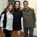 Patricia Maciel, Patricia Secco e Paulo Villela