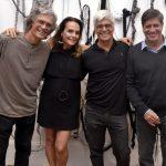 Ricardo Hachiya,Patricia Secco,, Nelson Leal e Sergio Serzedelo Machado