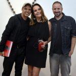 Mauro Roma, Patricia Secco e Allan Seabra