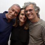 Luiz de Freitas, Patricia Secco e Ricardo Hachiya