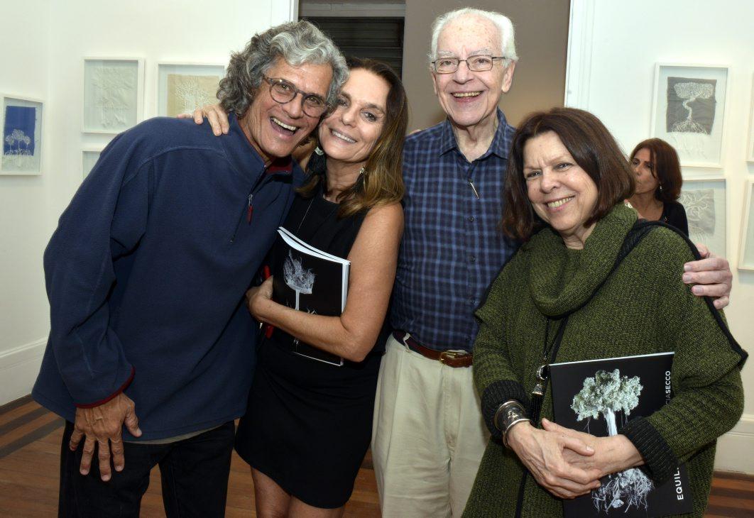 Patricia Secco e Ricardo Hachiya  inauguram exposição e agitam a Laura Alvim