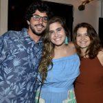 Higgo Gomes, Maria Maud Fonseca e Claudia Abreu