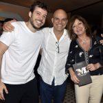 João Cavalcanti, Ricca Barros e Alcione Mazzeo