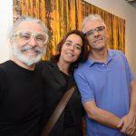 David Cury, Úrsula Tautz e Renato Camargo