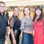 David Luiz, Rachel França, Silvia Camargo e Luciane Borges