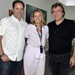 David Zylbersztajn, Kiki Moretti e Dudu Garcia