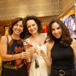 Denise Tanus, Andrea Marques e Tininha Kos