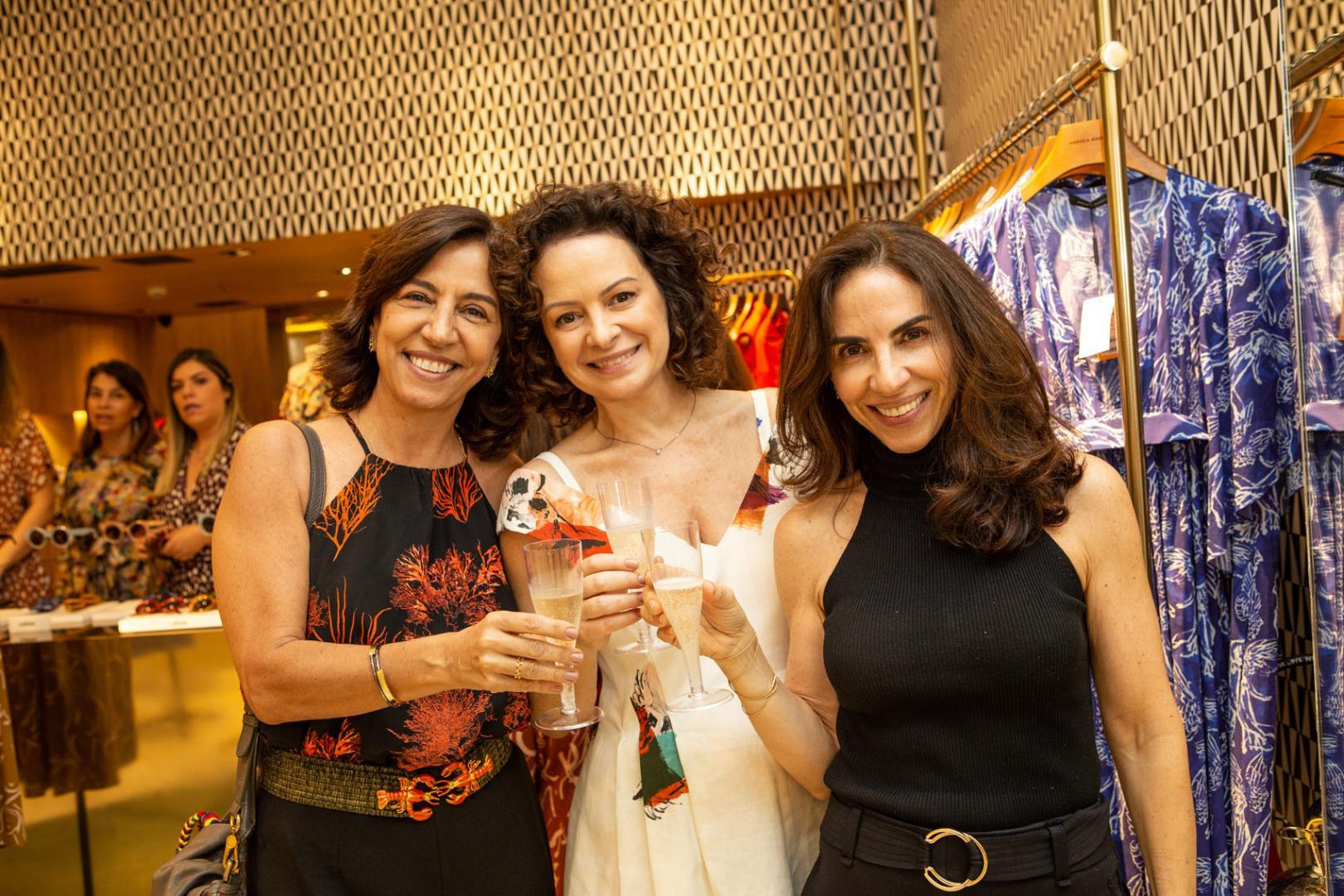 Andrea Marques recebe a Lapima em sua loja do Leblon