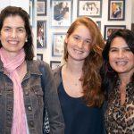 Dirce , Julia Poor e Fernanda Chies