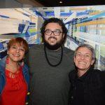 Eliane Salek, Alexandre Rabello e Laura Finochiaro