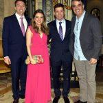 Felippe Saadia, Giovanna e Celso Niskier e Roberto Flanzer