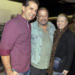 Hélio Pitanga, Carlos Vereza e Jacqueline Barroso
