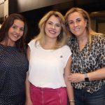 Ana Beatriz Palhares, Michele Zaidan e Lucinha Amorim