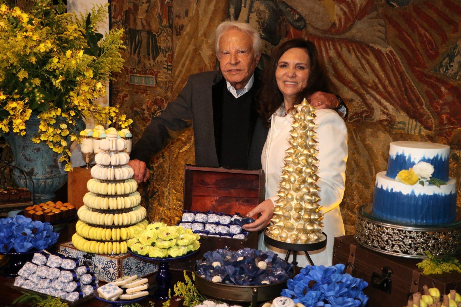 Cid Moreira comemora 92 anos