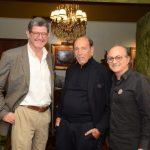 Joaquim Levi, Israel Klabin e Márcio Doctors