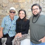Jorge Salomão, Alicinha Silveira e Alexandre Rabello