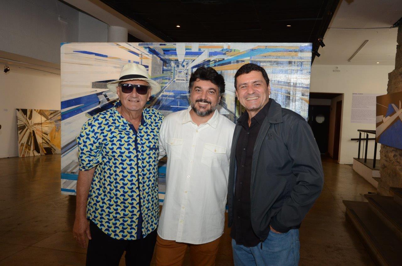 """Parque das Ruínas recebe a abertura da exposição """"Rafael Vicente"""""""