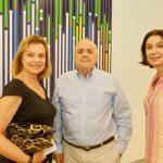 Laura Buernier, João de Castro e Mariah Martins Rangel