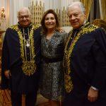 Luiz Carlos Serpa e Ruth e Arnaldo Niskier