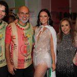 Luiz Fernanfo Coutinho. Helinho Oliveira, Paolla Olireira, Simone Oliveira e Liegè Monteiro