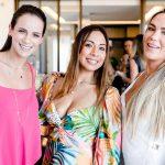 Marcela Felinto, Milagros Lescano e Gabriela Knopf