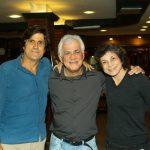 Marcus Gasparian, Jorge Davison e Cristina Granato
