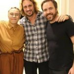 Maria Gadu, o maestro Eder Paolozzi e Leandro Bellin