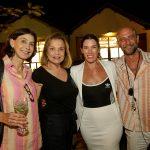 Maria Rangel, Laura Burnier, Sarah Morris e Carlos Bevilacqua
