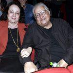 Norma e seu filho Carlos Thiré