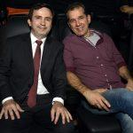 O produtor do filme Paulo Meeiros e Hélio Pitanga