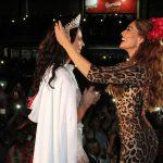 Paolla Oliveira e Juliana Paes na Coroação da nova Rainha de Bateria da Grande Rio