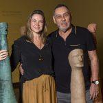 Raquel Saliba e Marcus Lontra