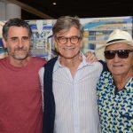 Rodrigo Pedrosa, César Coelho e Jorge Salomão