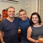 Ronaldo Simões, Rogério Freitas e Deyse Bueno