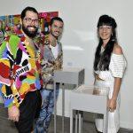 Thomaz Azulay, Patrick Doering e Leandra Espirito Santo
