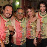 Wolf Maya, Presidente de Honra da Grande Rio Jayder Soares, Liegè Monteiro e Luiz Fernando Coutinho