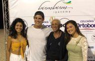 Desfile de 40 anos da Bumbum Ipanema consagra os campeões da 9ª etapa do Circuito RJ de Beach Tennis
