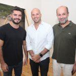 Luiz Danielian, Ricardo Kimaid Jr e Guilherme Schiller