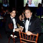 Nelson Piquet e o filho Pedro