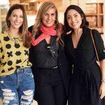 Anny Meisler, Patricia Hall e Juliana Cunha