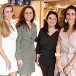 Juliana Neves de Castro, Roberta Vieira, Isabela Gobel e Mabel Graham